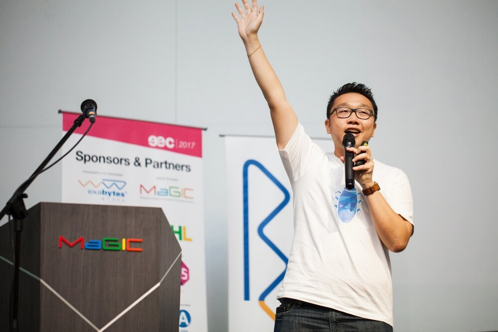 Chan Kee Siak CEO Exabytes at EEC 2019
