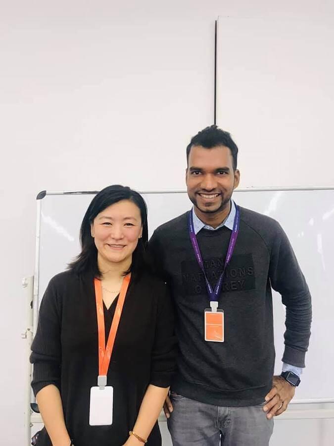 Sam and Alibaba's partner