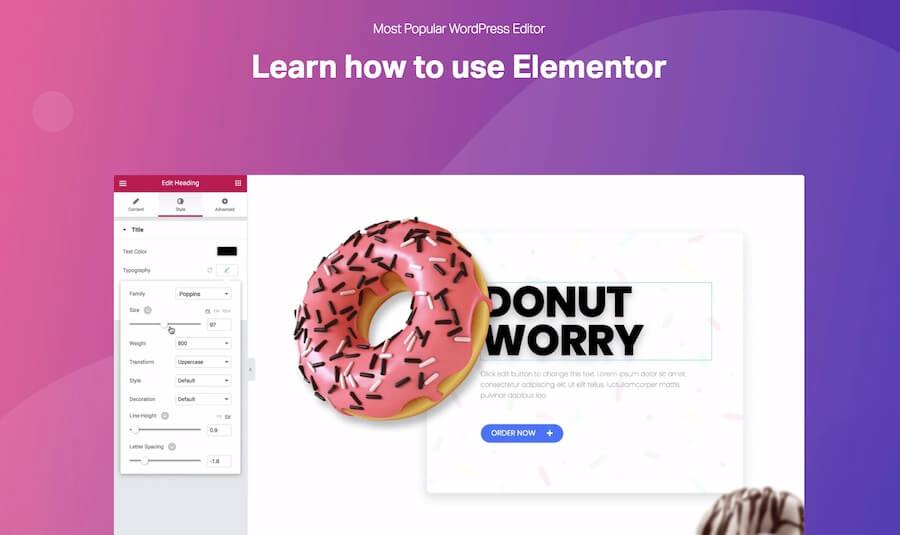 WordPress-Training-Elementor