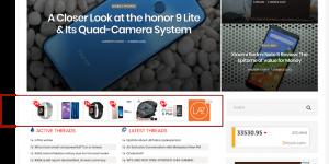 Iklan gambar di laman web dan blog
