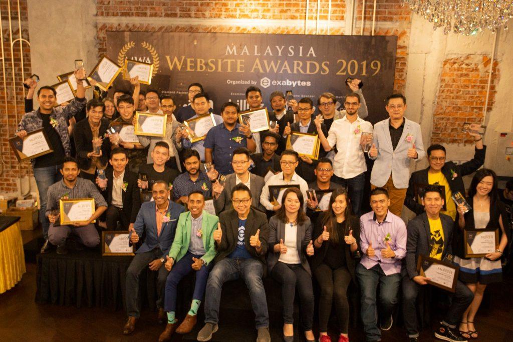 Pemenang Malaysia Website Awards 2019