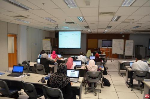 2012-06-05 Joomla Training @ INTAN Bukit Kiara (4)