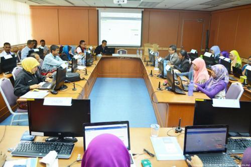 2015-06-03 Kursus Laman Web Portal semua Hospital Kerajaan di Perak