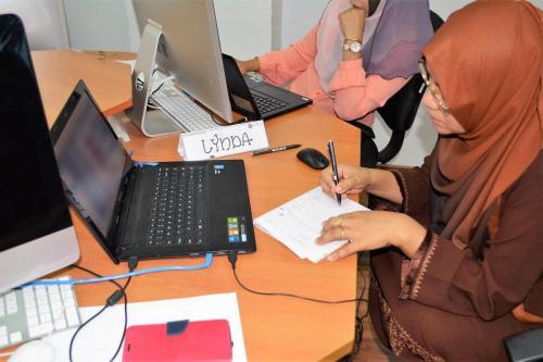 2016-04-02 Kursus Mobile Apps bersama Kolej Politeknik Mara- KPTM Alumni Federation