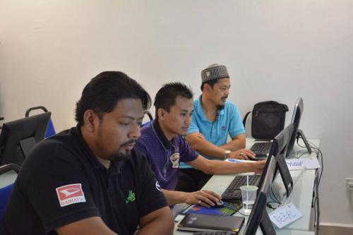 2017-01-09 Kursus Laman Web WordPress bersama Institut Teknologi ANS-MU DOT MY