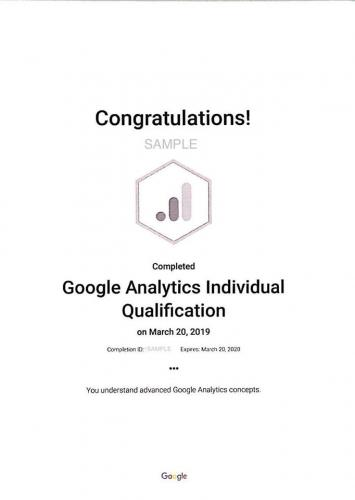 2019-03-19 Google Analytics Training 19-20 March 2019