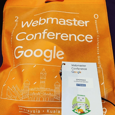totebag webmaster conference google kuala lumpur