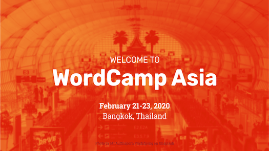 welcome to wordcamp asia features image