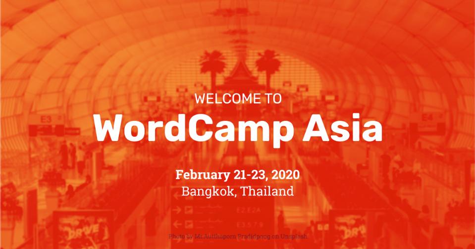 wordcamp asia 2020 bangkok